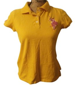 U.S. Polo Assn. T Shirt YELLOW