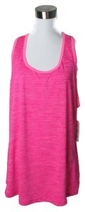 Danskin Now Danskin Athletic Performance Workout Yoga Tank Top Exercise Pink Keyhole XXL