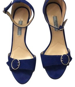 Prada Royal Blue Sandals