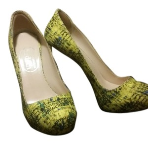 Nicholas Kirkwood YELLOW MULTI Pumps