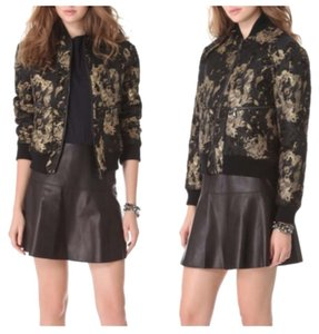 Other Women Clothing Black/Gold Jacket