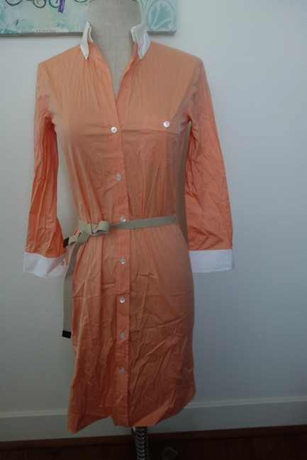 Laundry by Shelli Segal Casual Peachy Lovely Love Dress