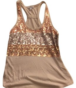 Express Top Tan/gold