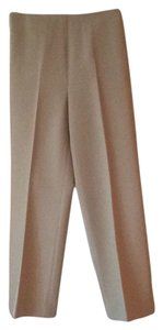St. John Wide Leg Pants Tan
