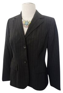INC International Concepts I.n.c Jacket Work Grey Blazer