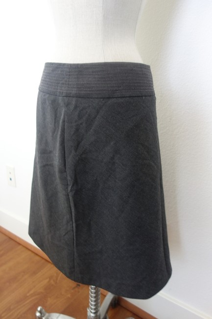 INC International Concepts Work Skirt Grey