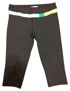 Forever 21 Forever 21 Colorblock Yoga Capris
