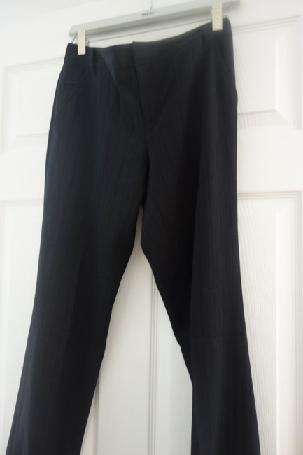 Club Monaco Balck Straight Pants Black