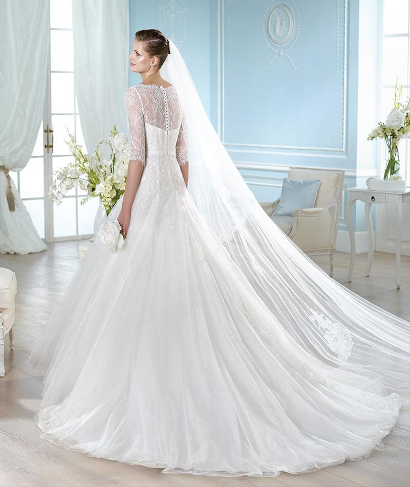 Wedding Dress White Vs Off White: St. Patrick Off White Tulle Lace Halima Traditional