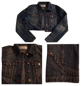 ANGL Dark denim Womens Jean Jacket