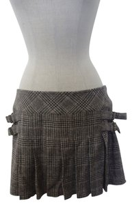 Juicy Couture Preppy Preppy Mini Skirt Brown