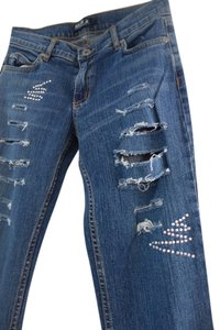 Arden B Swarovski Crystals Swarovski Jeans Jeans Jeans One Of A Kind Distressed Jeans Pants