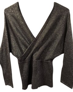 Wet Seal Sparkly Top Charcoal