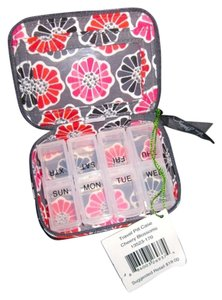 Vera Bradley CHEERY BLOSSOMS TRAVEL PILL ~ JEWELRY or COSMETIC CASE