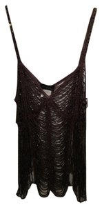 POLECI Beaded cami Top Taupe