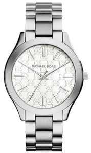 Michael Kors Michael Kors MK3371 Slim Runway Silver tone Watch NEW! $195