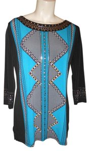 JM Collection Studded Tunic
