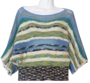 Anthropologie Rosie Neira Cropped Striped Sweater
