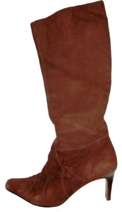 Parisian Signature Vintage Suede Brown Boots