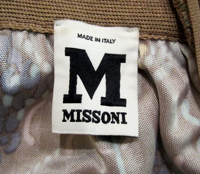 Missoni Empire Waist Peasant Sleeves 3/4 Sleeves Never Worn Floral Pastel Square Neck Dress Image 4