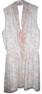 Daniel Cremieux short dress Pink/White on Tradesy