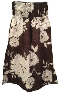 Abercrombie & Fitch short dress Brown Floral on Tradesy