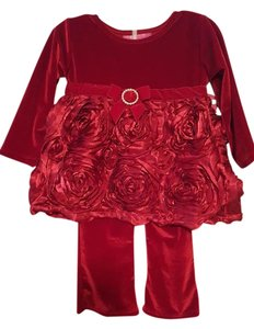 Marmellata Holiday Rosettes Dress