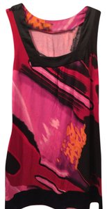 Express short dress Red/Pink Multi Multi on Tradesy