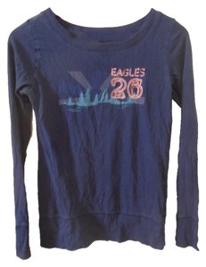 Old Navy Eagles Small T Shirt Navy Blue