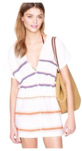 J.Crew short dress White Beach Tunic Caftan on Tradesy