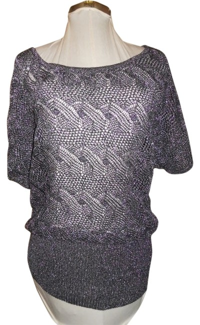 Preload https://item1.tradesy.com/images/cache-black-and-silver-sweaterpullover-size-12-l-899900-0-0.jpg?width=400&height=650