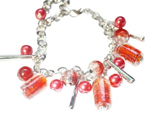 Other Fashion multiple Red Color glass bracelet