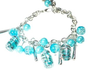 Other Fashion multiple Blue Color glass bracelet