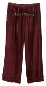 Soft Surroundings New Without Tags Wide Leg Pants Red-Pink