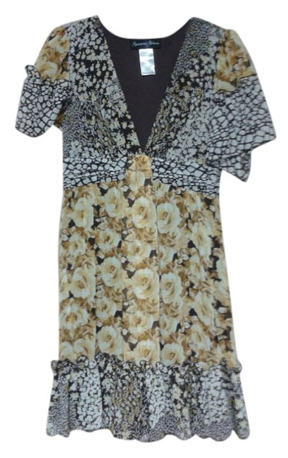 Item - Multicolor Above Knee Short Casual Dress Size 8 (M)