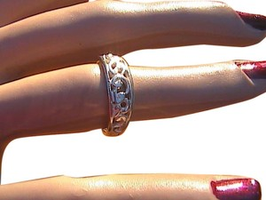Other Sterling Silver Swirl Band Ring (#120)