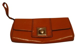 Banana Republic Small Wristlets Small Handbag orange Clutch