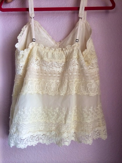 Abercrombie & Fitch Top Ivory, White