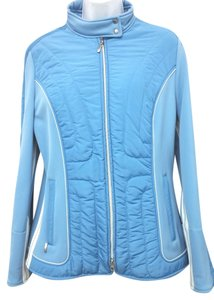 Escada Sport Ski Quilted Insulated 42 BLUE Jacket