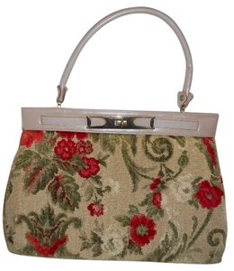 Ronay Vintage Satchel in taupe multi