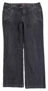 Bandolino Straight Pants Dark Wash