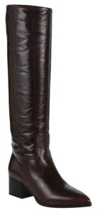 Miu Miu Leather Riding Brown Boots