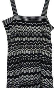 Missoni for Target short dress BLACK WHITE on Tradesy
