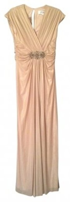 Preload https://item3.tradesy.com/images/badgley-mischka-gold-jersey-knit-folled-gown-long-formal-dress-size-4-s-9007-0-0.jpg?width=400&height=650