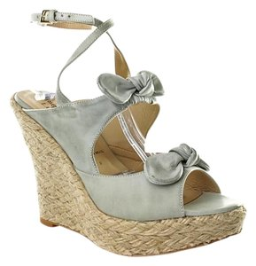 Joseph Griffin Wedge Bohemian Distressed Mint Wedges