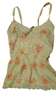 Gilly Hicks Hollister Top white and pink