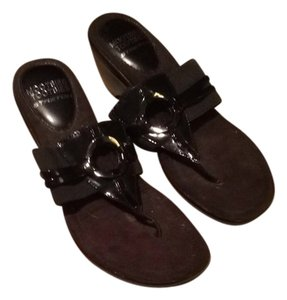 Mootsies Tootsies Black Sandals