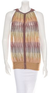 Missoni Sleeveless Zipper Tunic