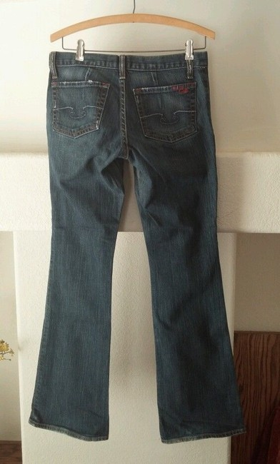 Blue Cult Boot Cut Jeans-Distressed