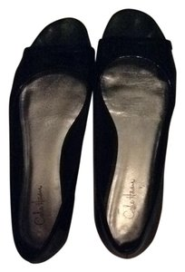 Cole Haan Pate Patent Leather Black Flats